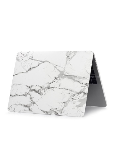 "Mcstorey MacBook Air A1369/A1466 13"" 13.3"" Kılıf Sert Kapak Koruma Hard Incase Mermer Renksiz"